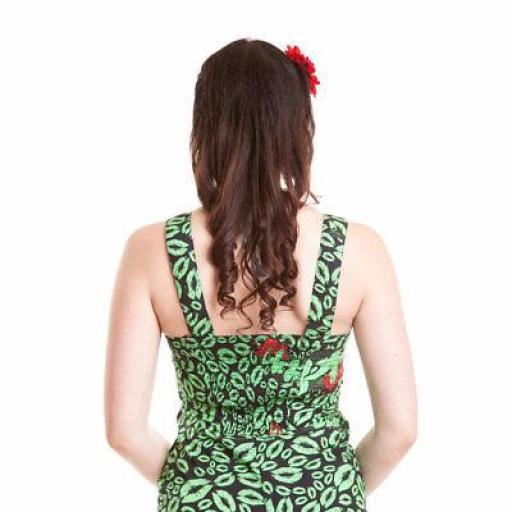 Poison Ivy DC pencil wiggle dress