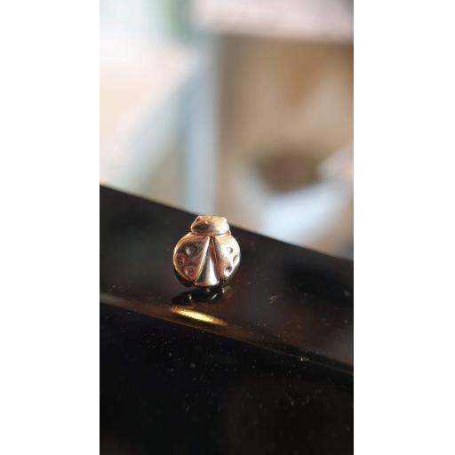 14ct Yellow Gold Ladybird