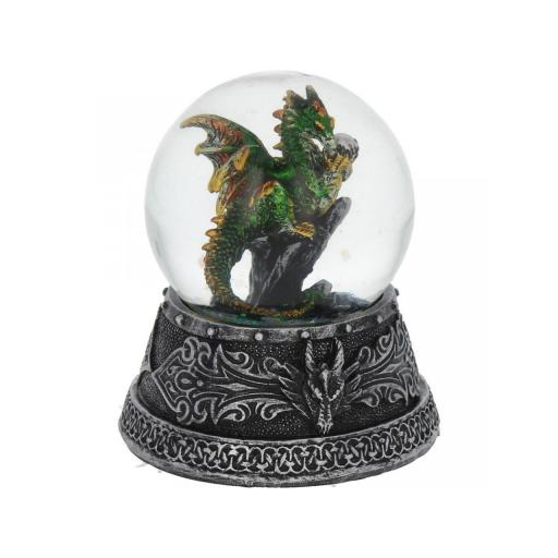 Enchanted Emerald Snowglobe
