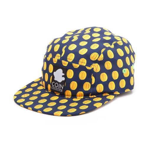 Super Mario Bros. Coin Pattern Camper Cap - Official Merchandise