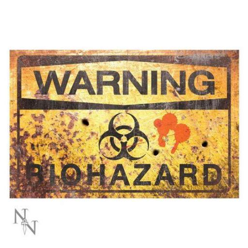 Warning Bio Hazard Sign