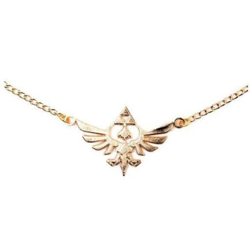 The Legend of Zelda Skyward Sword Hyrule Logo Necklace