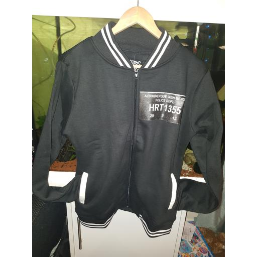 Meth lab varsity jacket.