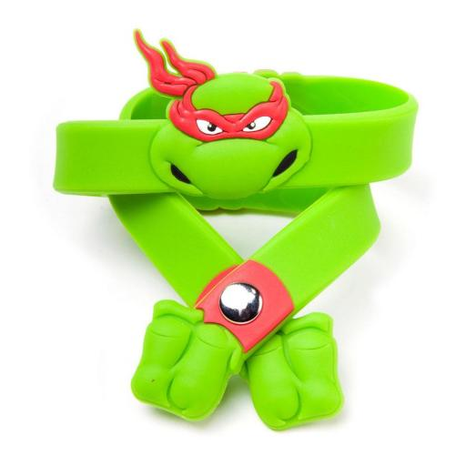 TEENAGE MUTANT NINJA TURTLES (TMNT) Raphael Rubber Wristband