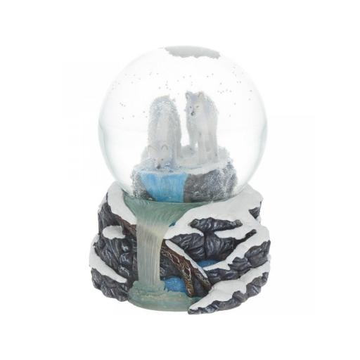 Warriors of Winter Snowglobe