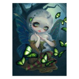 Absinthe Butterflies 3D Picture By Jasmine Becket-Griffith