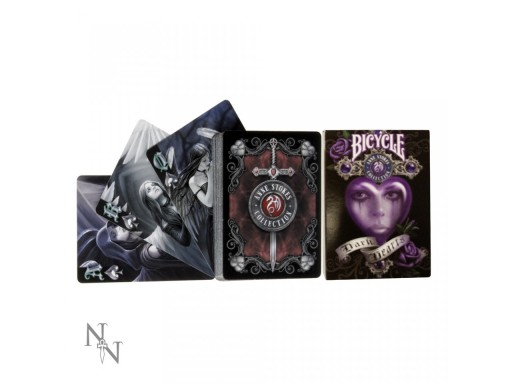 Anne Stokes Dark Hearts Playing Cards